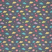Jersey, Baumwolle, für Kinder, 21403-015, grau