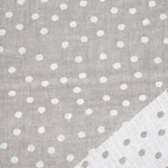 Tetra tkanina, obostrana, točke, 21404-055, bež