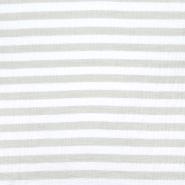 Musselin, beidseitig, Streifen, 21405-055