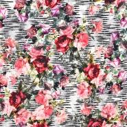 Jersey, Viskose, Digitaldruck, floral, 21415-001