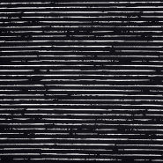 Jersey, pamuk, pruge, 21432-31, crna