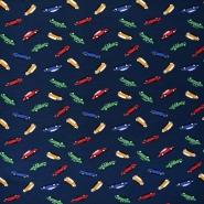 Jersey, Baumwolle, für Kinder, 21433-2, dunkelblau