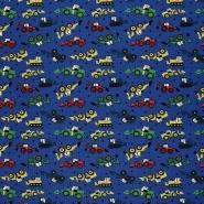 Jersey, Baumwolle, für Kinder, 21436-6, blau