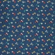 Jersey, Baumwolle, für Kinder, 21431-20, dunkelblau