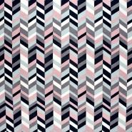 Dekostoff, Druck, geometrisch, 21451-021
