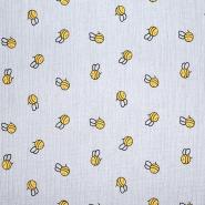 Tetra tkanina, dvojna, otroški, 21455-061, siva