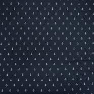 Tetra tkanina, dvostruka, morski, 21456-008, tamnoplava
