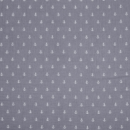 Tetra tkanina, dvojna, morski, 21456-063, siva