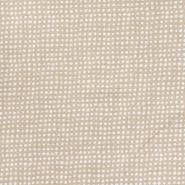 Gewebe, Viskose, Leinen, Punkte, 21460-052, beige