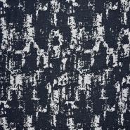 Jeans, Jacquard, 21461-008, dunkelblau