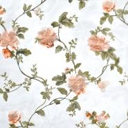 Organza, floral, 21464-011