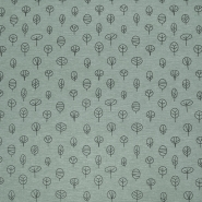 Dekostoff, Druck, Natur, 21471-068, grau