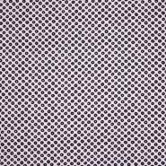 Pamuk, popelin, elastin, točke, 21489-2, ružičasta