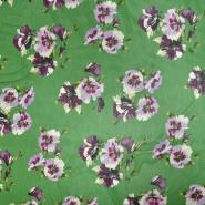 Šifon, poliester, cvetlični, 21504-1