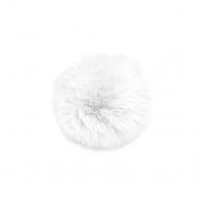 Cof, umetno krzno, 80mm, 21509-001, bela
