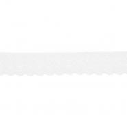 Spitze, elastisch, 20 mm, 21538-003, creme