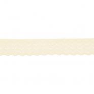 Spitze, elastisch, 20 mm, 21538-024, hellgelb