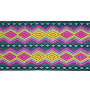 Band, Stickerei, geometrisch, 21539-002