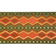 Band, Stickerei, geometrisch, 21539-008