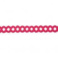 Band, dekorativ, Spitze, 21542-007, rosa
