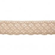 Spitze, Baumwolle, 40 mm, 21545-024, beige