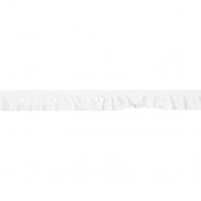Elastikband mit Volants, 21548-001, weiß