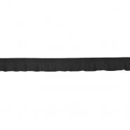 Elastikband mit Volants, 21548-002, schwarz