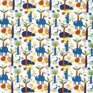Jersey, Baumwolle, Tiere, 19654-10