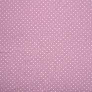 Jersey, pamuk, točkice, 21554-014, ružičasta