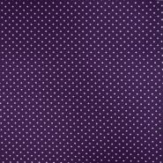 Jersey, Baumwolle, Punkte, 21554-044, violett - Bema Stoffe