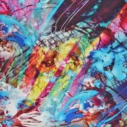 Jersey, viskoza, digital, abstraktni, 21375-10