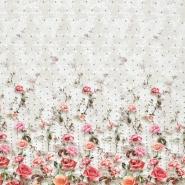 Jersey, viskoza, digital, cvetlični, 21375-11