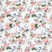 Jersey, Viskose, Digitaldruck, floral, 21375-14