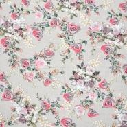 Jersey, Viskose, Digitaldruck, floral, 21375-20