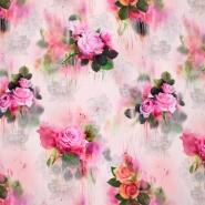 Jersey, Viskose, Digitaldruck, floral, 21375-33