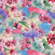 Jersey, Viskose, Digitaldruck, floral, 21375-35