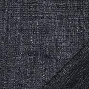 Dekostoff, Jacquard, Cindy, 21563-602, dunkelblau