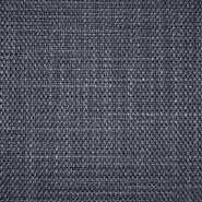Dekostoff, Jacquard, Bali, 21560-602, dunkelblau