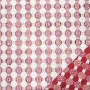 Dekostoff, Samt, beidseitig, 21571-306, rot - Bema Stoffe