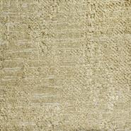 Dekostoff, Jacquard, Sultan, 21561-009, grün-beige