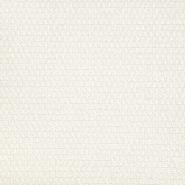 Dekostoff, Jacquard, Naxos, 21566-101, creme - Bema Stoffe
