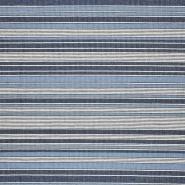 Dekostoff, Marsala, Streifen, 21565-705, blau