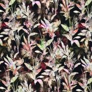 Tkanina, viskoza, cupro, cvjetni, 21592-001
