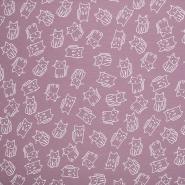 Jersey, Baumwolle, für Kinder, 21593-014, rosa
