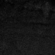 Krzno, umetno, kratkodlako, 21597, črna
