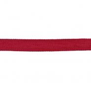 Gurtband, 15 mm, 19596-009, rot