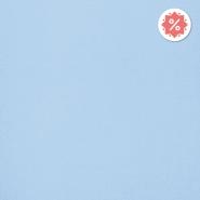 Jersey, bombaž, 13335-52, svetlo modra