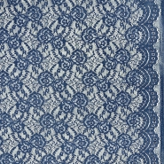 Čipka, elastična, 21657-007, plava