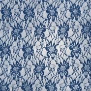 Čipka, elastična, 21658-047, plava