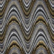 Pletivo, gusto, apstraktni, 21663-037, žuta